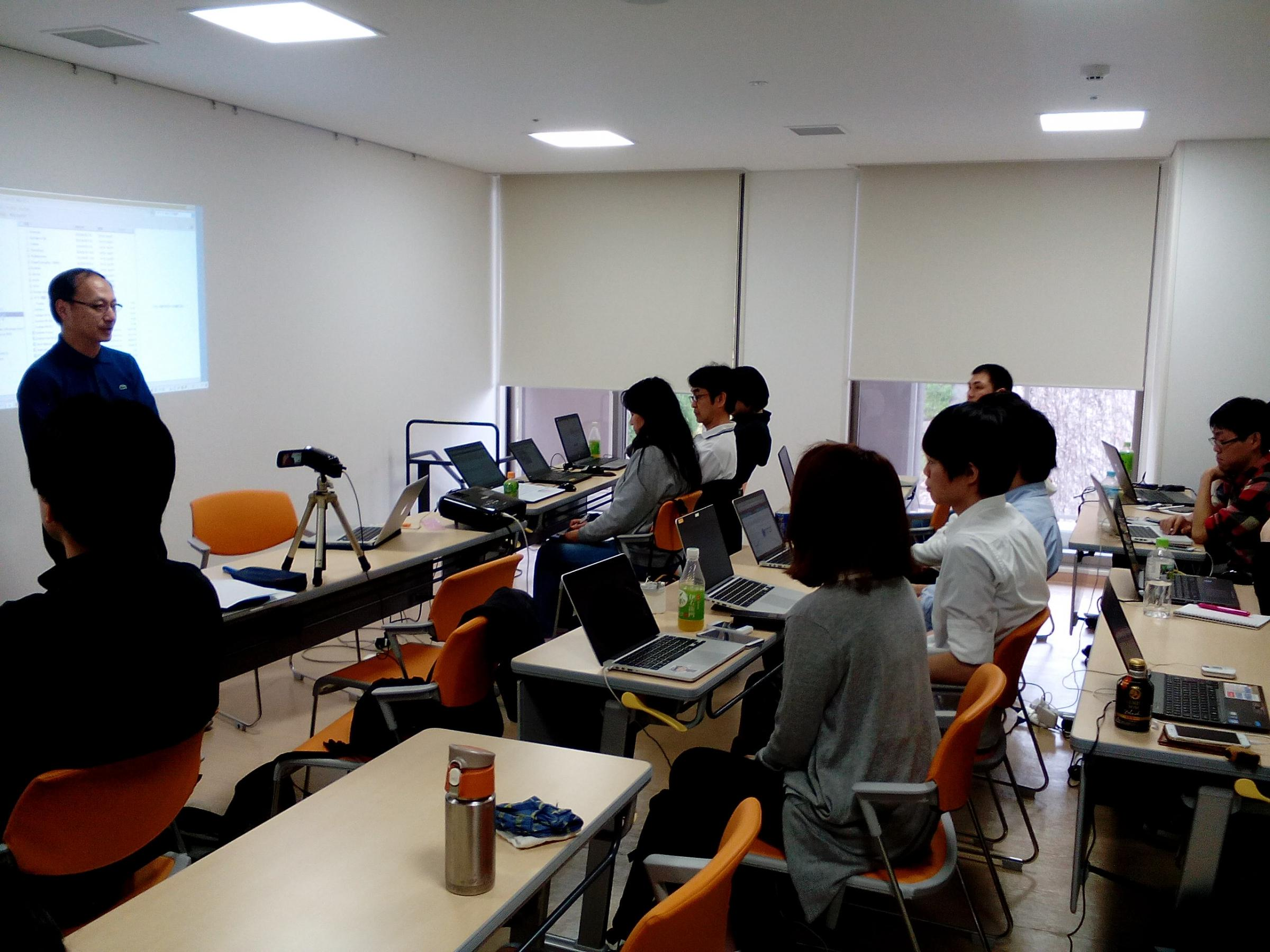 Drupal Global Training Day April 9, 2016 at Tokyo Edogawa