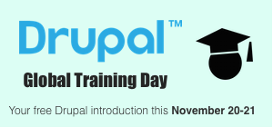Drupal Global Training Days  Nov. 2015