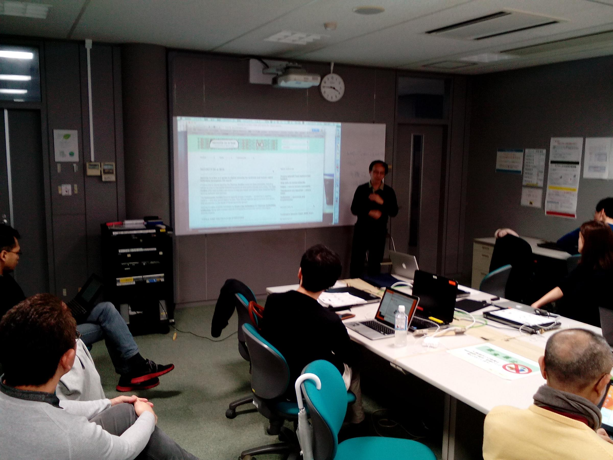 Drupal Global Training Day in Tokyo 2015